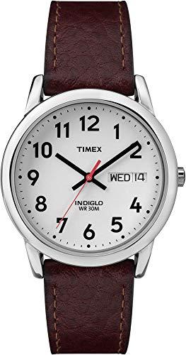 タイメックス 腕時計 メンズ 20041 【送料無料】MNS Easy Reader BRWN Lthr STRP White Dial , Day/Date Arabic Numerals WR 30 Metersタイメックス 腕時計 メンズ 20041