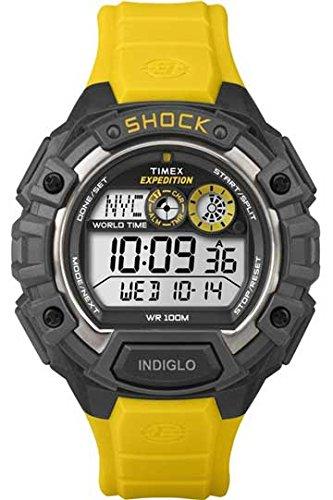 タイメックス 腕時計 メンズ T49974 【送料無料】Timex Expedition Global Shock Watch - Yellowタイメックス 腕時計 メンズ T49974