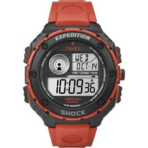タイメックス 腕時計 メンズ T49984 Timex T49984 Expedition Vibe Shock Watch - Flame Redタイメックス 腕時計 メンズ T49984