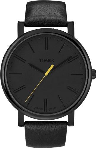 タイメックス 腕時計 メンズ T2N793PF Timex Easy Reader Black Leather Strap Mens Watch T2N793タイメックス 腕時計 メンズ T2N793PF