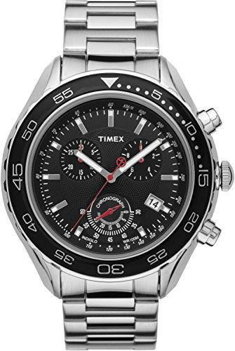 タイメックス 腕時計 メンズ T2N588 【送料無料】Timex Chronograph Black Dial Men's watch #T2N588タイメックス 腕時計 メンズ T2N588