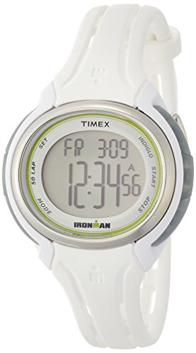 タイメックス 腕時計 メンズ TW5K90700 Timex Ironman Sleek 50-Lap Mid-Size Watch - Whiteタイメックス 腕時計 メンズ TW5K90700