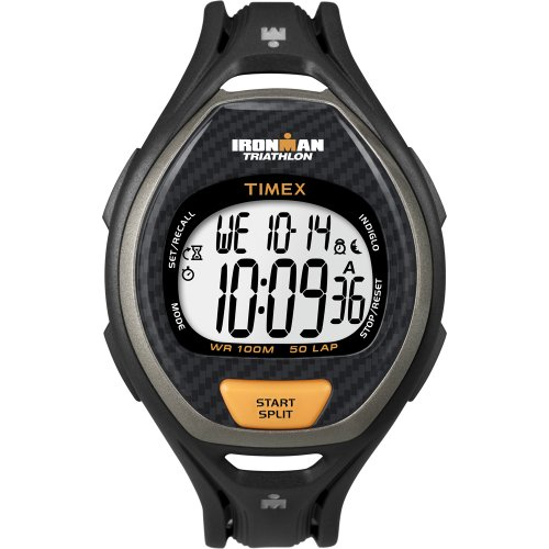 タイメックス 腕時計 メンズ 40489 TIMEX IRONMAN 50 LAP MENS DIGITAL WATCH BLACK/ORANGEタイメックス 腕時計 メンズ 40489