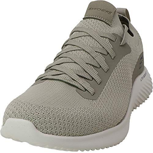 スケッチャーズ 海外ブランドシューズ アメリカ 【送料無料】Skechers Men's Bounder Mirkle Cross Training Shoes Taupeスケッチャーズ 海外ブランドシューズ アメリカ