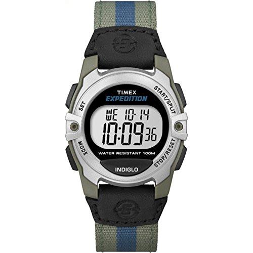 タイメックス 腕時計 メンズ T499589J 【送料無料】Timex Unisex T49958 Expedition Mid-Size Digital Watch with Multicolored Nylon Bandタイメックス 腕時計 メンズ T499589J
