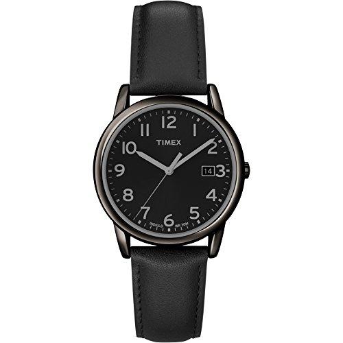タイメックス 腕時計 メンズ T2N947 【送料無料】Timex Men's T2N947 South Street Black Leather Strap Watchタイメックス 腕時計 メンズ T2N947