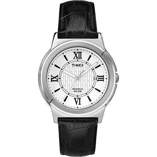 タイメックス 腕時計 メンズ T2P520 Timex Men's T2P5209J Main Street Watch with Textured Leather Bandタイメックス 腕時計 メンズ T2P520