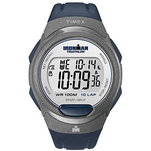 タイメックス 腕時計 メンズ T5K610 【送料無料】Timex T5K610 Mens Ironman 10-Lap Blue Indiglo Watchタイメックス 腕時計 メンズ T5K610