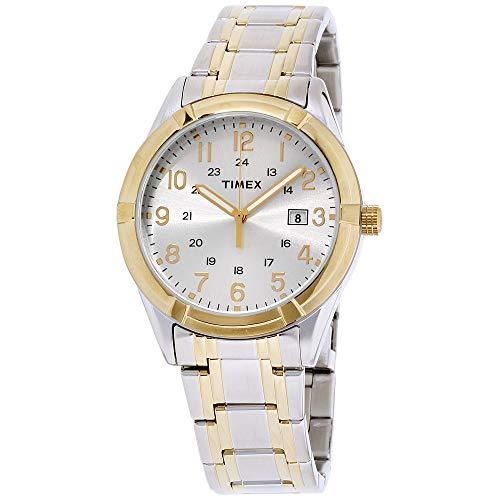タイメックス 腕時計 メンズ TW2P76500 Timex Men's Easton Avenue | Two-Tone w White Dial 24-Hr Time | Dress TW2P76500タイメックス 腕時計 メンズ TW2P76500