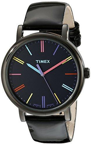腕時計 タイメックス メンズ T2N790 【送料無料】Timex Women's T2N790 Originals Black Patent Leather Strap Watch腕時計 タイメックス メンズ T2N790