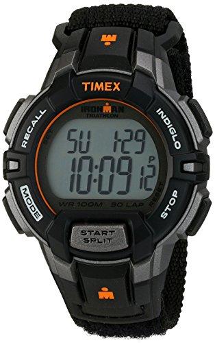 腕時計 タイメックス メンズ T5K8349J 【送料無料】Timex Men's T5K8349J Ironman Rugged 30 Digital Display Quartz Black Watch腕時計 タイメックス メンズ T5K8349J