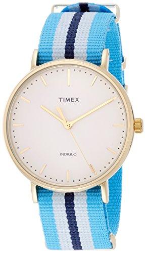 タイメックス 腕時計 メンズ TW2P91000 【送料無料】Timex Weekender Fairfield White Dial Nylon Strap Unisex Watch TW2P91000タイメックス 腕時計 メンズ TW2P91000
