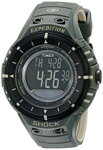 タイメックス 腕時計 メンズ T49612 Timex Men's T49612 Expedition Shock Digital Compass Olive/Black Resin Strap Watchタイメックス 腕時計 メンズ T49612