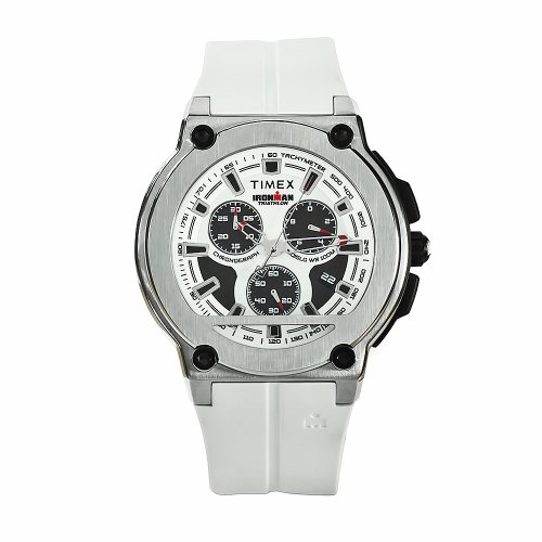 タイメックス 腕時計 メンズ T5K352 Timex Men's T5K352 Ironman Dress White Rubber Dial Watchタイメックス 腕時計 メンズ T5K352