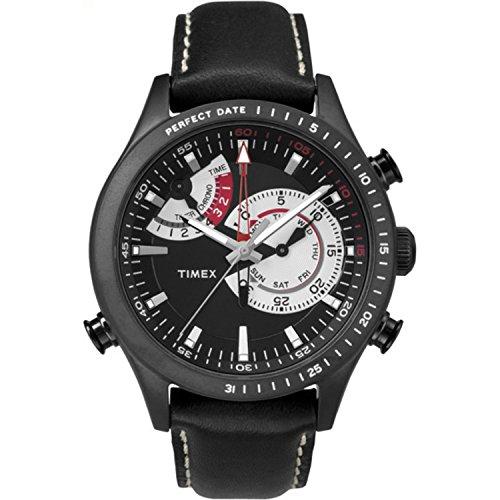 タイメックス 腕時計 メンズ TW2P72600 【送料無料】Timex Men's TW2P72600DH Intelligent Quartz Collection Analog Display Quartz Black Watchタイメックス 腕時計 メンズ TW2P72600