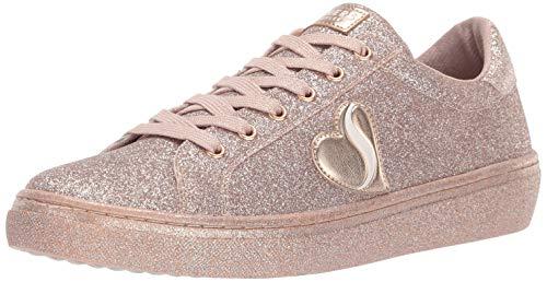 スケッチャーズ 海外ブランドシューズ アメリカ送料無料 Skechers Women's Goldie All Over Fine Glitter Lace Up Sneakerスケッチャーズ 海外ブランドシューズ アメリカJT3K1clF