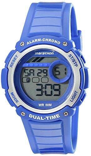 タイメックス 腕時計 メンズ TW5K85000M6 【送料無料】Timex Unisex TW5K85000M6 Marathon Digital Display Quartz Blue Watchタイメックス 腕時計 メンズ TW5K85000M6