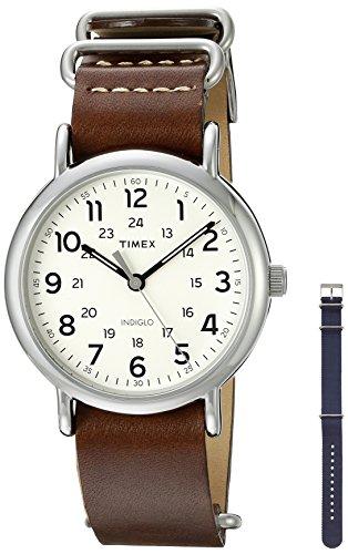 腕時計 タイメックス メンズ TWG012500QM 【送料無料】Timex Unisex TWG012500QM Weekender Watch With Two Interchangable Bands腕時計 タイメックス メンズ TWG012500QM