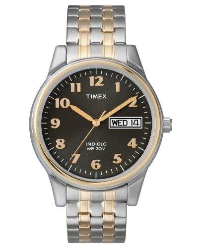 タイメックス 腕時計 メンズ T26481UM Timex Watch, Men's Two-Tone Stainless Steel Expansion Band T26481UMタイメックス 腕時計 メンズ T26481UM