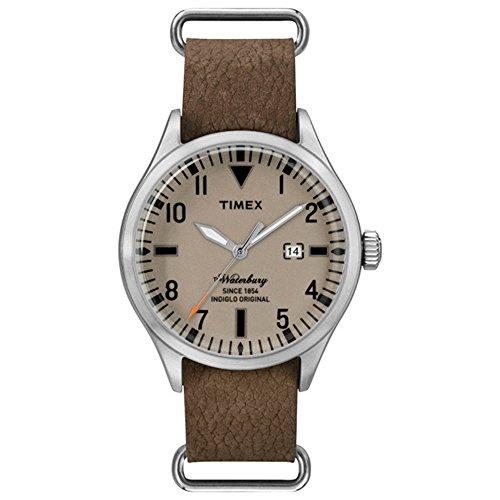 タイメックス 腕時計 メンズ 121612 【送料無料】Timex The Waterbury Brown Dial Leather Strap Men's Watch TW2P64600タイメックス 腕時計 メンズ 121612