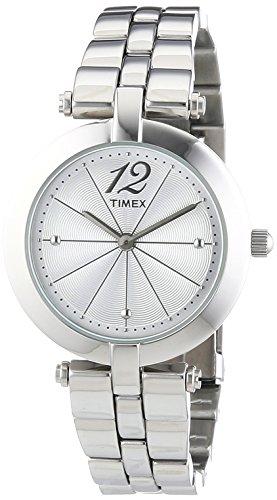 タイメックス 腕時計 レディース T2P549 Timex Women's Quartz Watch with Silver Dial Analogue Display and Silver Stainless Steel Bracelet T2P549タイメックス 腕時計 レディース T2P549