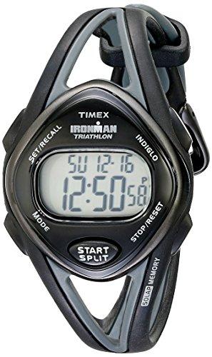 タイメックス 腕時計 レディース T5K039 【送料無料】Timex Women's T5K039 Ironman Sleek 50 Mid-Size Black Resin Strap Watchタイメックス 腕時計 レディース T5K039