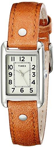 腕時計 タイメックス レディース T2N905 【送料無料】Timex Women's T2N905 Bristol Park Honey Brown Leather Strap Watch腕時計 タイメックス レディース T2N905