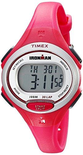 タイメックス 腕時計 レディース TW5K90300 【送料無料】Timex Women's TW5K903009J Ironman Essential 30 Pink Resin Strap Watchタイメックス 腕時計 レディース TW5K90300