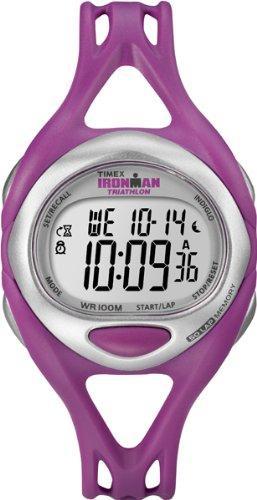 タイメックス 腕時計 レディース T5K759SU Timex Women's Quartz Watch with LCD Dial Digital Display and Pink Resin Strap T5K759SUタイメックス 腕時計 レディース T5K759SU