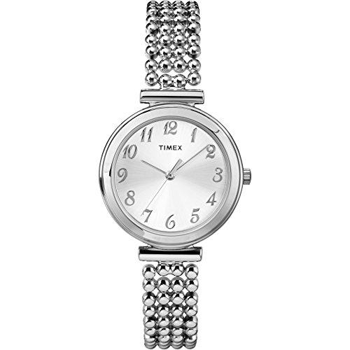 タイメックス 腕時計 レディース T2P204 【送料無料】Timex Women's T2P2049J Elevated Classics Dress Silver-Tone Bracelet Watchタイメックス 腕時計 レディース T2P204
