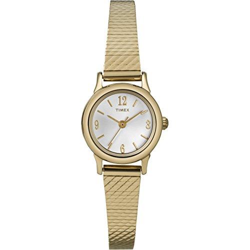 タイメックス 腕時計 レディース T2P300 Timex Women's | Gold Tone Case & Strap White Dial | Classic Dress Watch T2P300タイメックス 腕時計 レディース T2P300