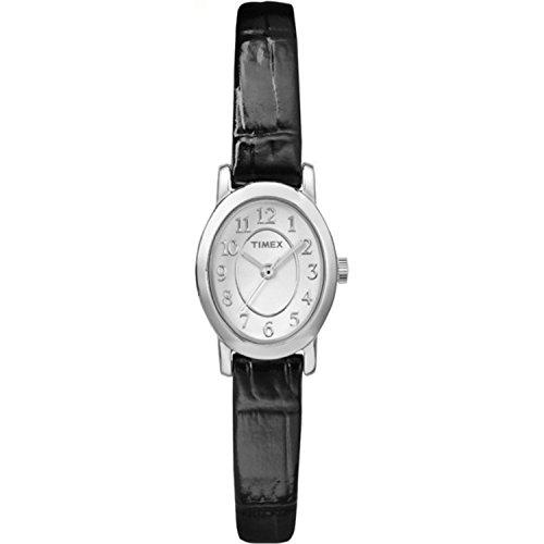 タイメックス 腕時計 レディース TW2P60400 【送料無料】Timex Women's TW2P60400 Cavatina Black Croco Pattern Leather Strap Watchタイメックス 腕時計 レディース TW2P60400