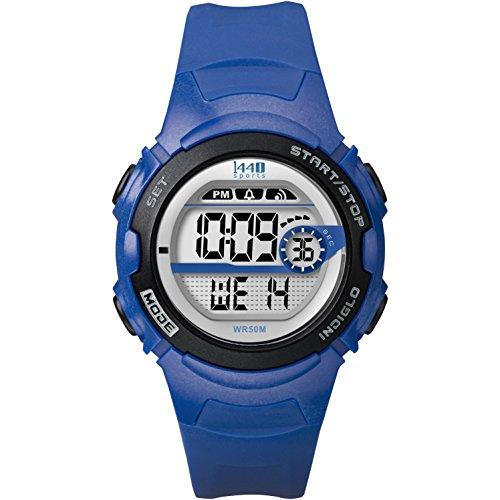 タイメックス 腕時計 レディース T5K5969J Timex Women's 1440 Sport Digital Blue Resin Watch Indiglo T5K596 Chronographタイメックス 腕時計 レディース T5K5969J