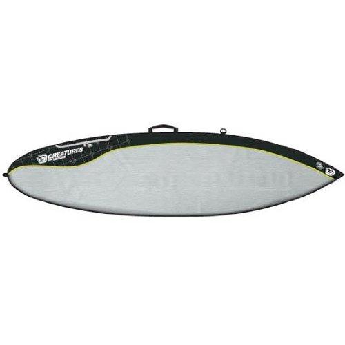 サーフィン ボードケース バックパック マリンスポーツ Creatures of Leisure Day Use Short Board Cover - 6 Footサーフィン ボードケース バックパック マリンスポーツ