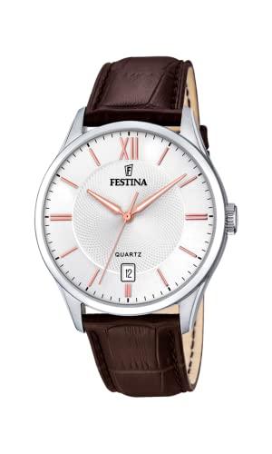 腕時計 フェスティナ フェスティーナ スイス メンズ 【送料無料】Festina Mens Analogue Quartz Watch with Leather Strap F20426/4腕時計 フェスティナ フェスティーナ スイス メンズ