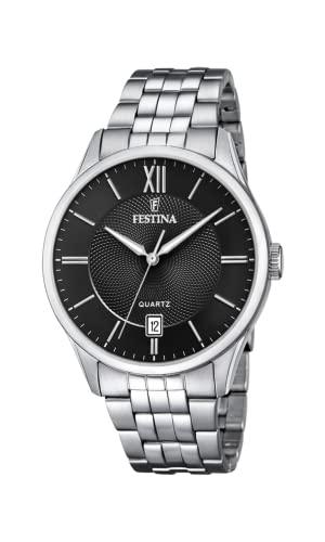 腕時計 フェスティナ フェスティーナ スイス メンズ 【送料無料】Festina Mens Analogue Quartz Watch with Stainless Steel Strap F20425/3腕時計 フェスティナ フェスティーナ スイス メンズ