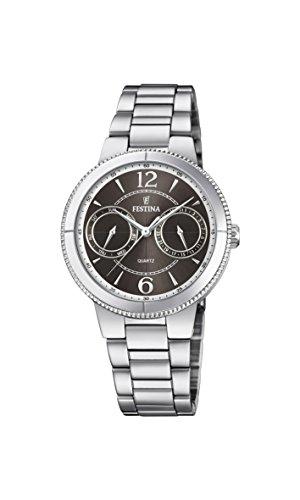 フェスティナ フェスティーナ スイス 腕時計 レディース 【送料無料】Festina Multifunktion F20206/2 Wristwatch for women Classic & Simpleフェスティナ フェスティーナ スイス 腕時計 レディース