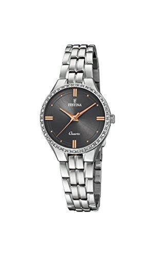 腕時計 フェスティナ フェスティーナ スイス レディース 【送料無料】Festina Women's Autumn-Winter 17 Quartz Watch with Stainless Steel Strap, Silver, 14 (Model: F20218/2)腕時計 フェスティナ フェスティーナ スイス レディース