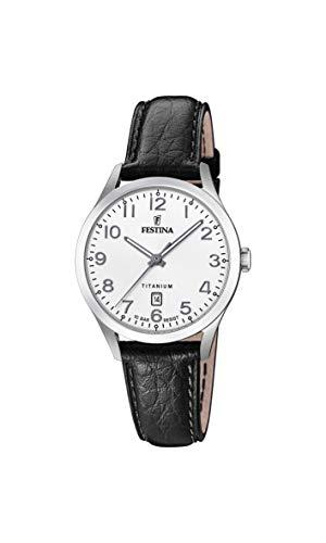 フェスティナ フェスティーナ スイス 腕時計 レディース送料無料 Festina Women's Titanium Quartz Watch with Leather StrapBlack19ModelF20469 1 フェスティナ フェスティーナ スイス 腕時計 レディースrQxeWoEdCB