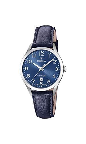 フェスティナ フェスティーナ スイス 腕時計 レディース 【送料無料】Festina Womens Analogue Quartz Watch with Leather Strap F20469/2フェスティナ フェスティーナ スイス 腕時計 レディース