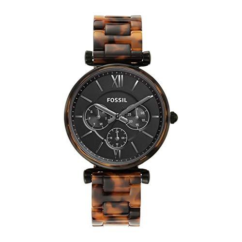 フォッシル 腕時計 レディース 【送料無料】Fossil Carlie - ES4659 Tortoise One Sizeフォッシル 腕時計 レディース