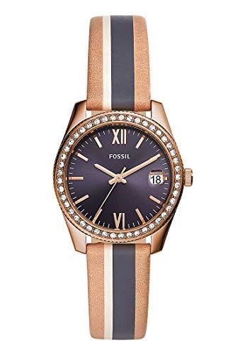 フォッシル 腕時計 レディース 【送料無料】Fossil Womens Analogue Quartz Watch with Leather Strap ES4594フォッシル 腕時計 レディース