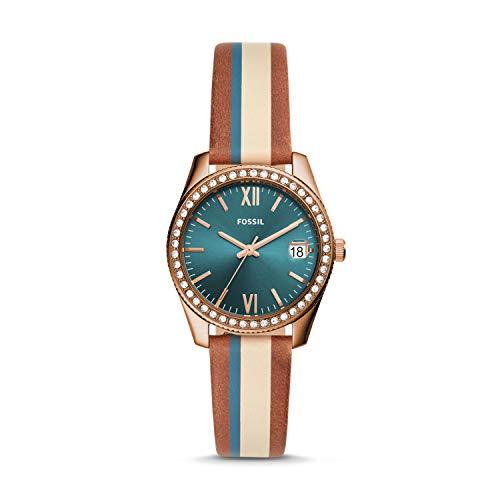 フォッシル 腕時計 レディース 【送料無料】Fossil Womens Analogue Quartz Watch with Leather Strap ES4593フォッシル 腕時計 レディース
