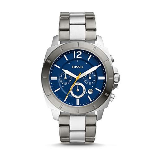 フォッシル 腕時計 メンズ 【送料無料】Fossil Privateer Sport Chronograph Two-Tone Stainless Steel Watch BQ2464フォッシル 腕時計 メンズ
