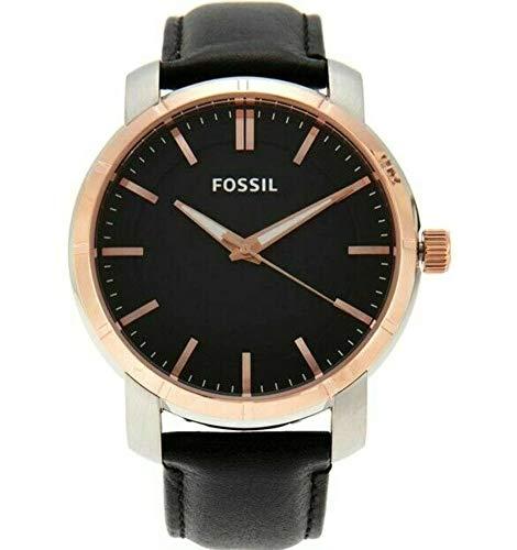 腕時計 フォッシル メンズ 【送料無料】Fossil BQ1286 Men's Lance Black Rose Gold Dial Black Leather Strap Watch腕時計 フォッシル メンズ