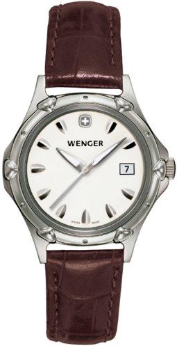 ウェンガー スイス 腕時計 レディース 【送料無料】Wenger Women's Swiss Made Standard Issue Watch 70230ウェンガー スイス 腕時計 レディース
