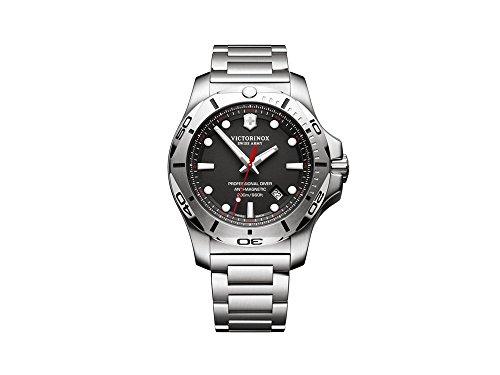 ビクトリノックス スイス 腕時計 メンズ 【送料無料】Victorinox INOX Mens Analog Quartz Watch with Stainless Steel Bracelet V241781ビクトリノックス スイス 腕時計 メンズ