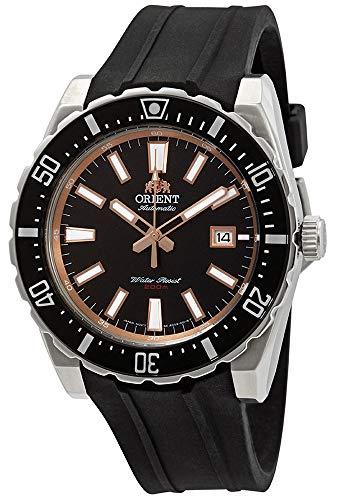 オリエント 腕時計 メンズ 【送料無料】Orient Diver Automatic Black Dial Men's Watch FAC09003B0オリエント 腕時計 メンズ