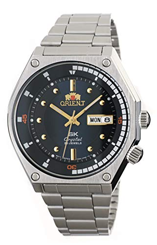 オリエント 腕時計 メンズ 【送料無料】ORIENT Sports SK Retro 70's Automatic Steel Watch with Blue Dial RA-AA0B03Lオリエント 腕時計 メンズ