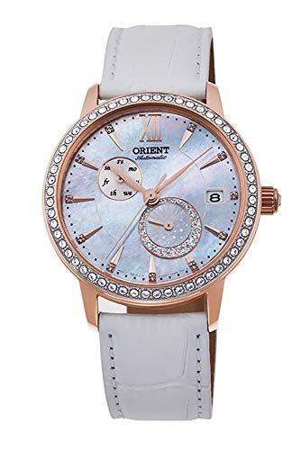 オリエント 腕時計 レディース 【送料無料】ORIENT Ladies Swarovski Automatic 'Sun and Moon' Pearl Dial Rose Gold Watch RA-AK0004Aオリエント 腕時計 レディース